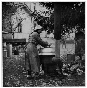 Finsk förplägnadslotta under vinterkriget