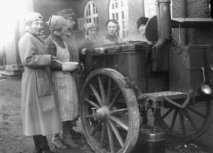 Lottor med kokvagn m/1916