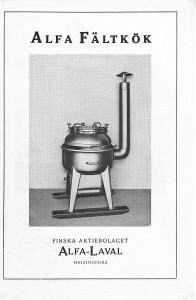 Pages 1Alfa fältkök broschyr Finland
